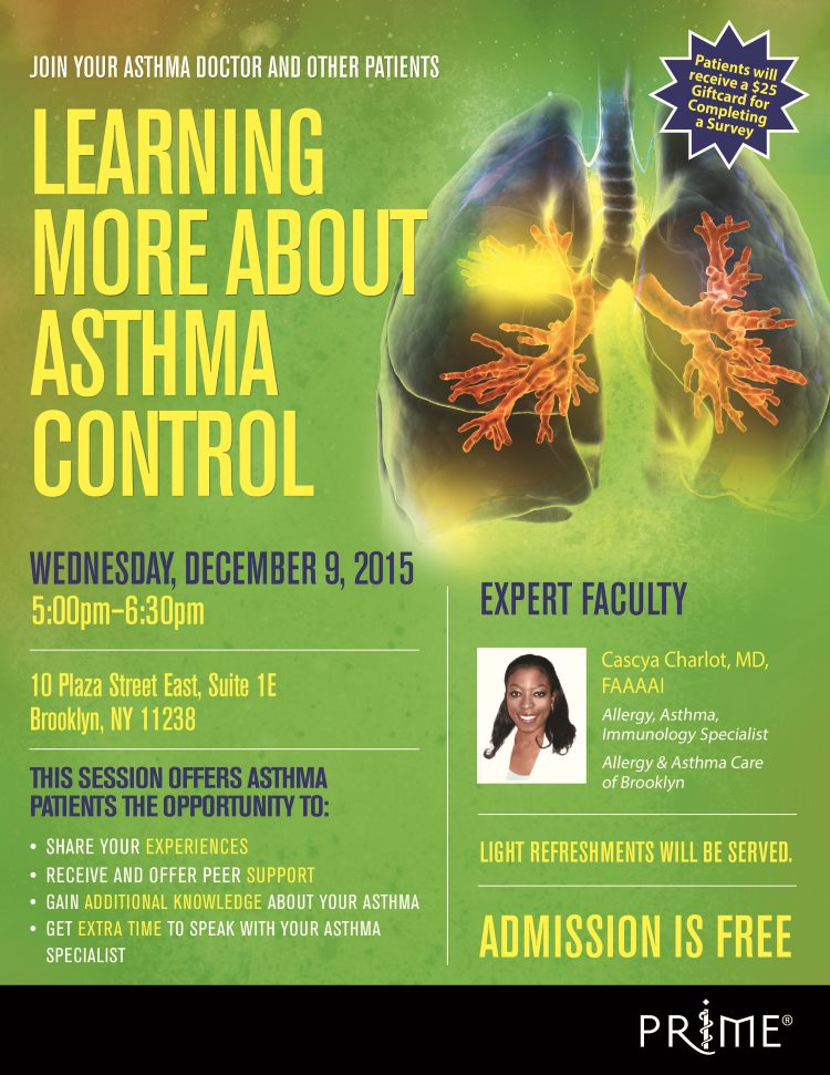 Upcoming Event - Learning More About Asthma Control